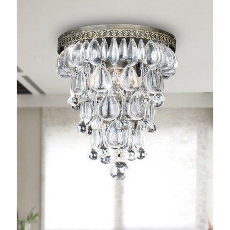 Hong Kong best New Zhu Yuan lighting Co. Alena 1-Light Semi Flush