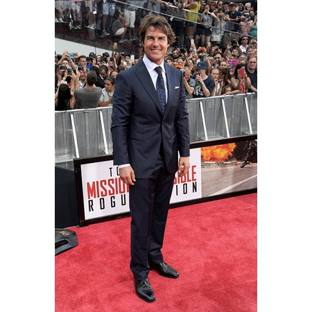 Tom Cruise At Arrivals For Mission Impossible  Rogue Nation Premiere Duffy Square New York Ny July 27 2015 Photo By Kristin CallahanEverett Collection Celebrity