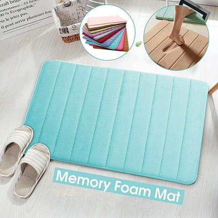Soft Microfibre Floor Rugs Home Shower Bath Pad Bathroom Bedroom Carpet Anti-Skid Doormat Size: (1 Bedroom 1 Bath Homes For Sale)