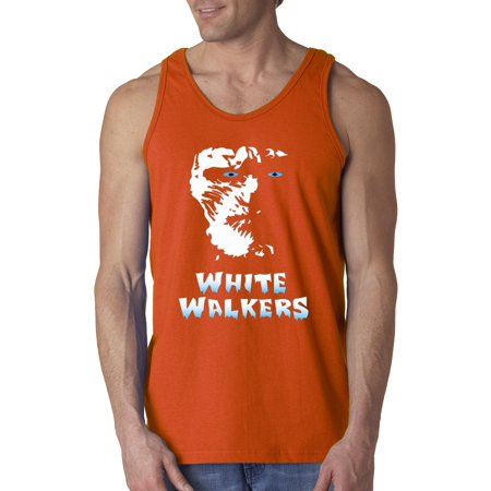 New Way 493 - Men's Tank-Top White Walkers Game Of - White Walker Game Of Thrones