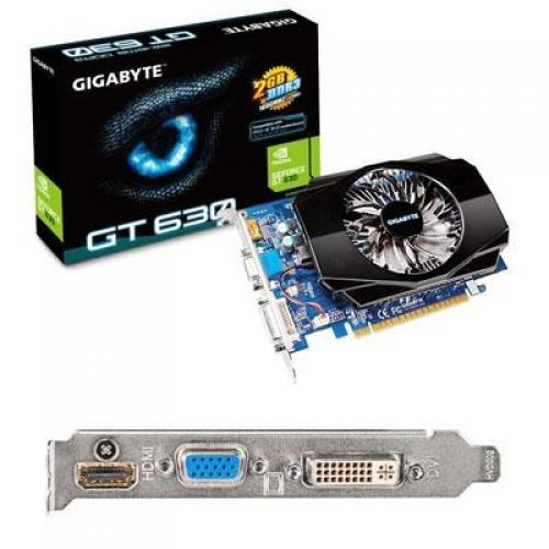 Gigabyte GeForce GT 630 2GB DDR3 PCI Express 2.0 Graphics Card