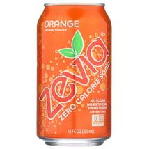 Soft Drinks: Zevia Orange