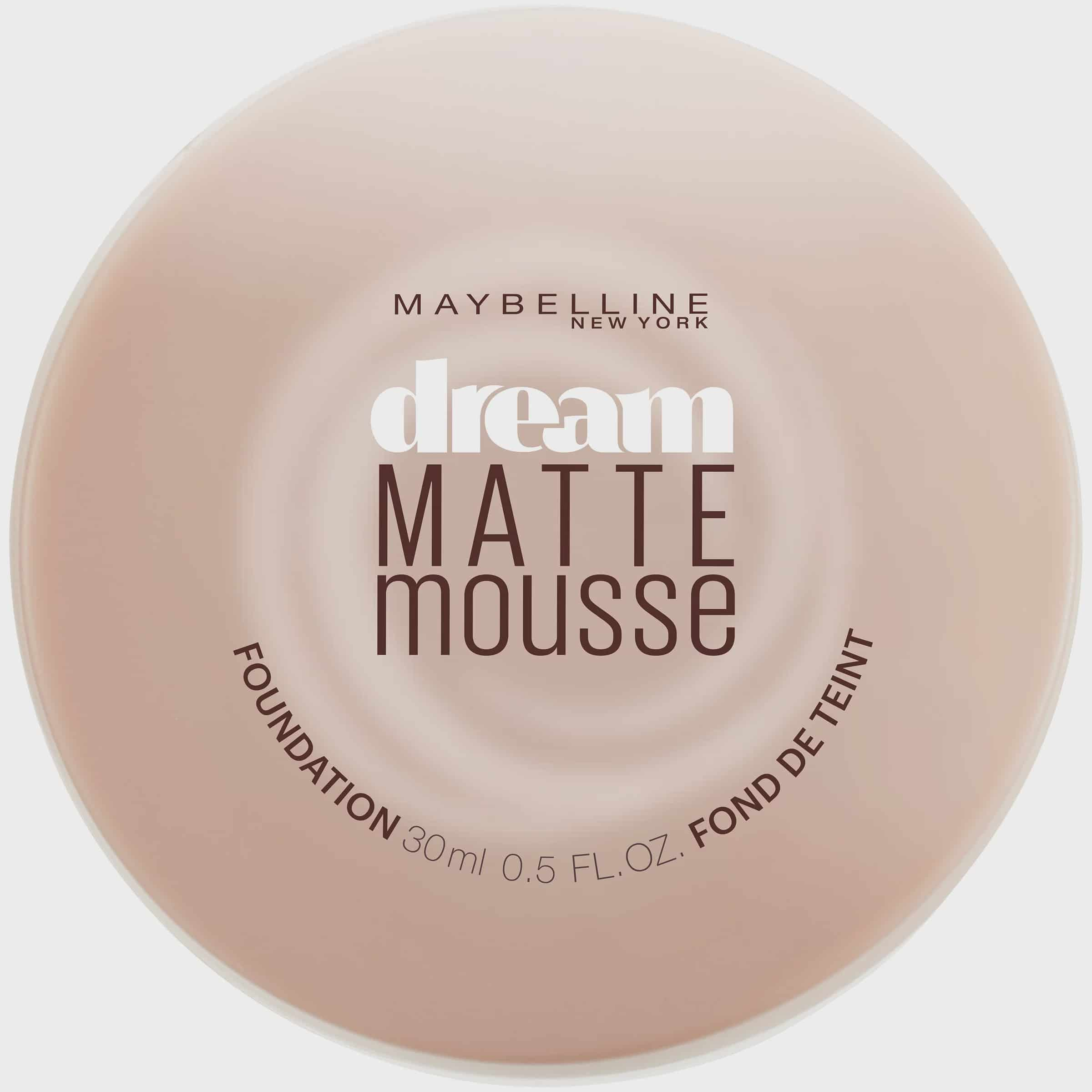 Maybelline Dream Matte Mousse Foundation Classic Ivory 0 64 Oz Walmart Com Walmart Com