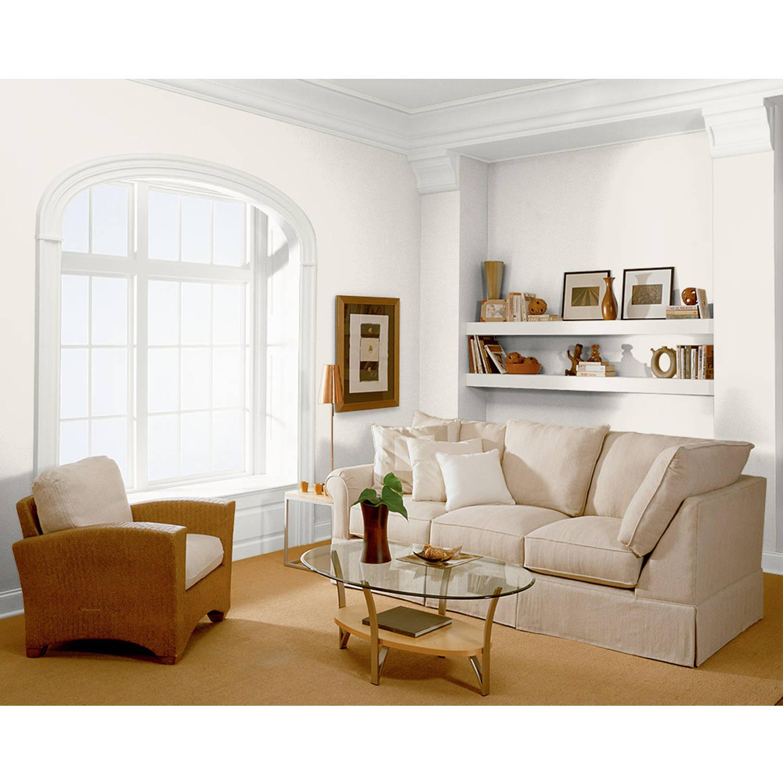 Superior KILZ SELECT LOOK Interior/Exterior Flat Paint U0026 Primer In One, White, 1  Gallon   Walmart.com