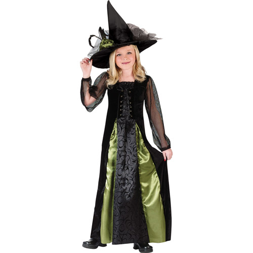 Fun World Goth Maiden Witch Child Halloween Costume