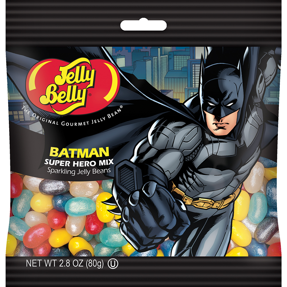 Jelly Belly Batman Jelly Beans 2.8 oz Bag (Each) by Jelly Belly Candy Company