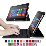 Fintie Microsoft Surface RT / Surface 2 10.6-Inch Tablet SlimShell Case - Ultra Slim Lightweight Stand Cover, Black