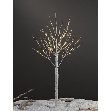 Lightshare 4FT Birch Tree with 48 warm white lights