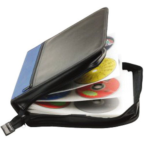 Inland Pro CD/DVD Carrying Case, Holds 208