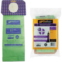 ProTeam 103483 Intercept Micro Filter Bag for ProTeam ProForce Vacuum Cleaners - Pack of 10