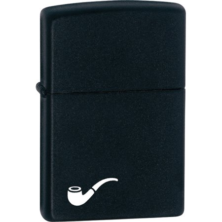 Zippo Matte Black Pipe Lighter