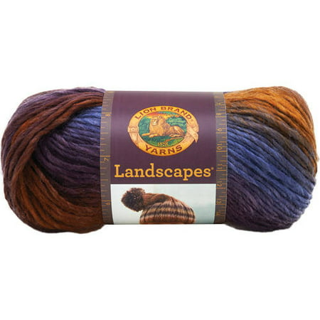 Lion Brand Landscapes Yarn, 147 Yd. - Halloween Crafts Using Yarn