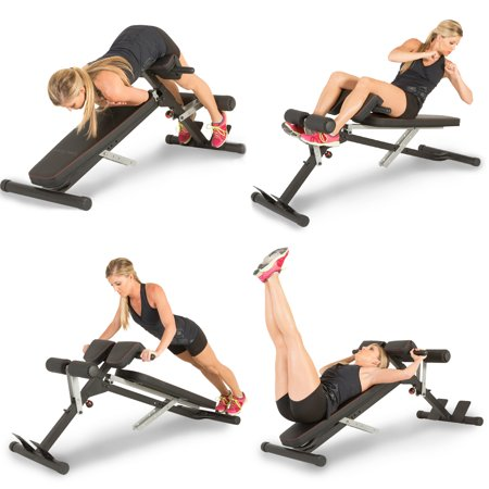 Fitness Reality X-Class Light Commercial Multi-Workout Abdominal /Hyper Back Extension Bench