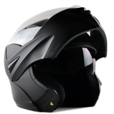 ILM Motorcycle Flip up Modular Full Face Helmet Dual Visor DOT Approved 8 Colors