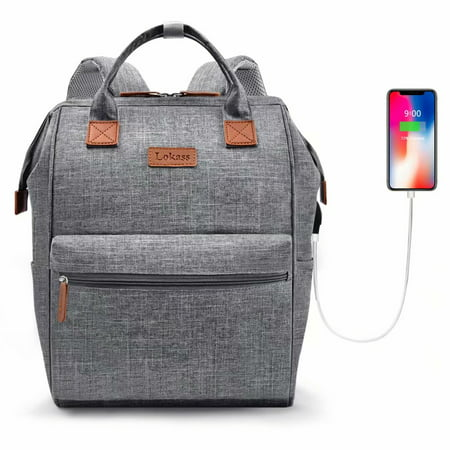 Laptop Backpack School Backpack  Mummy Bag Notebook Bag USB Charging Business Travel Shoulder Bags Computer Sports Backpack For Work Man (Best Business Travel Bag)