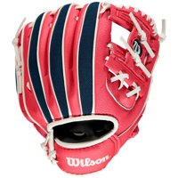 "Wilson 10"" A200 Series T-Ball Glove, Right Hand Throw, Various Teams"