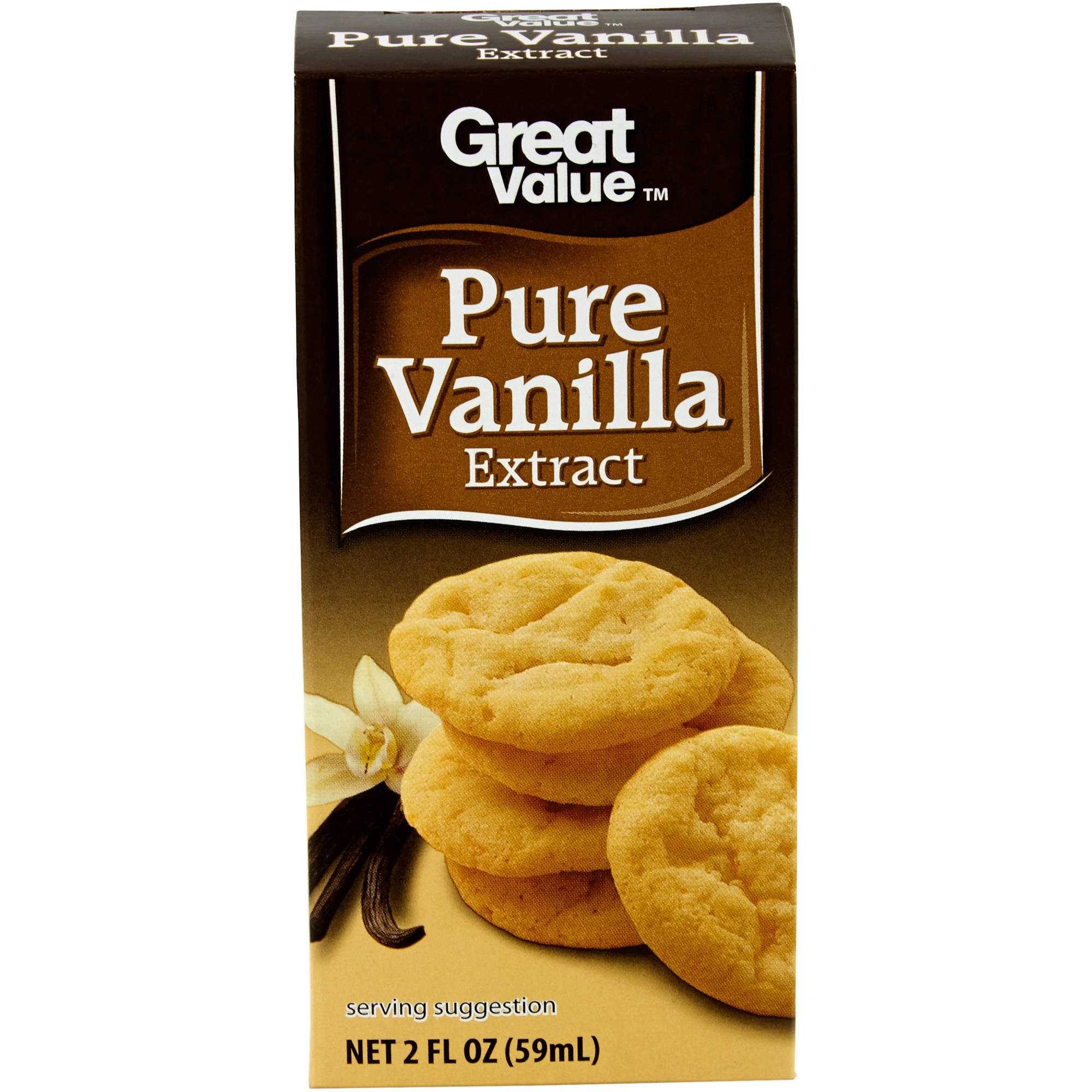 Great Value: Extract Pure Vanilla, 2 Fl Oz