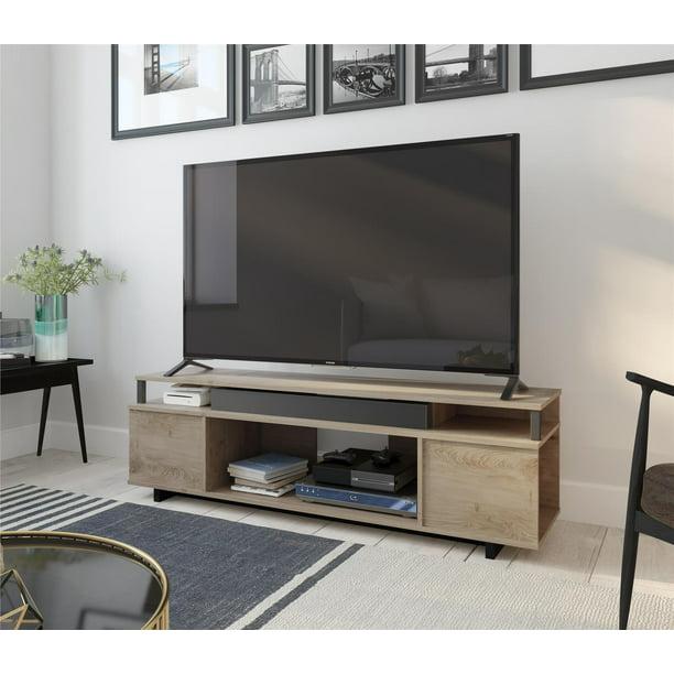 "Ameriwood Home Kensington Place TV Stand for TVs up to 65"", Golden Oak"