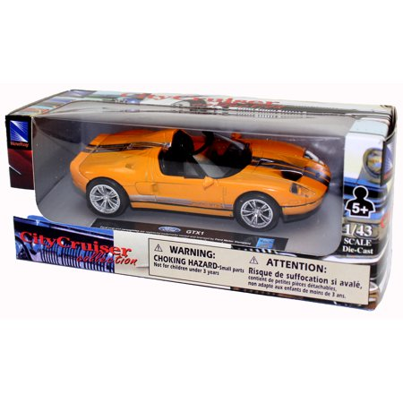 Die-Cast Orange Ford GTX1 1:43 Scale - image 1 de 2