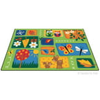 Carpets for Kids Printed Nature's Toddler Area Rug