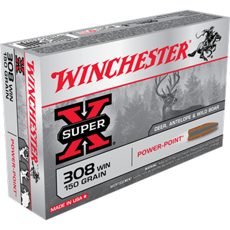 Winchester 308 Winchester 20 Rds