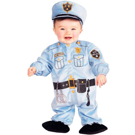 Forum Infant Police Officer Cop Baby Halloween Costume