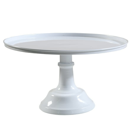 White Metal Cake Stand - Black Cake Stands