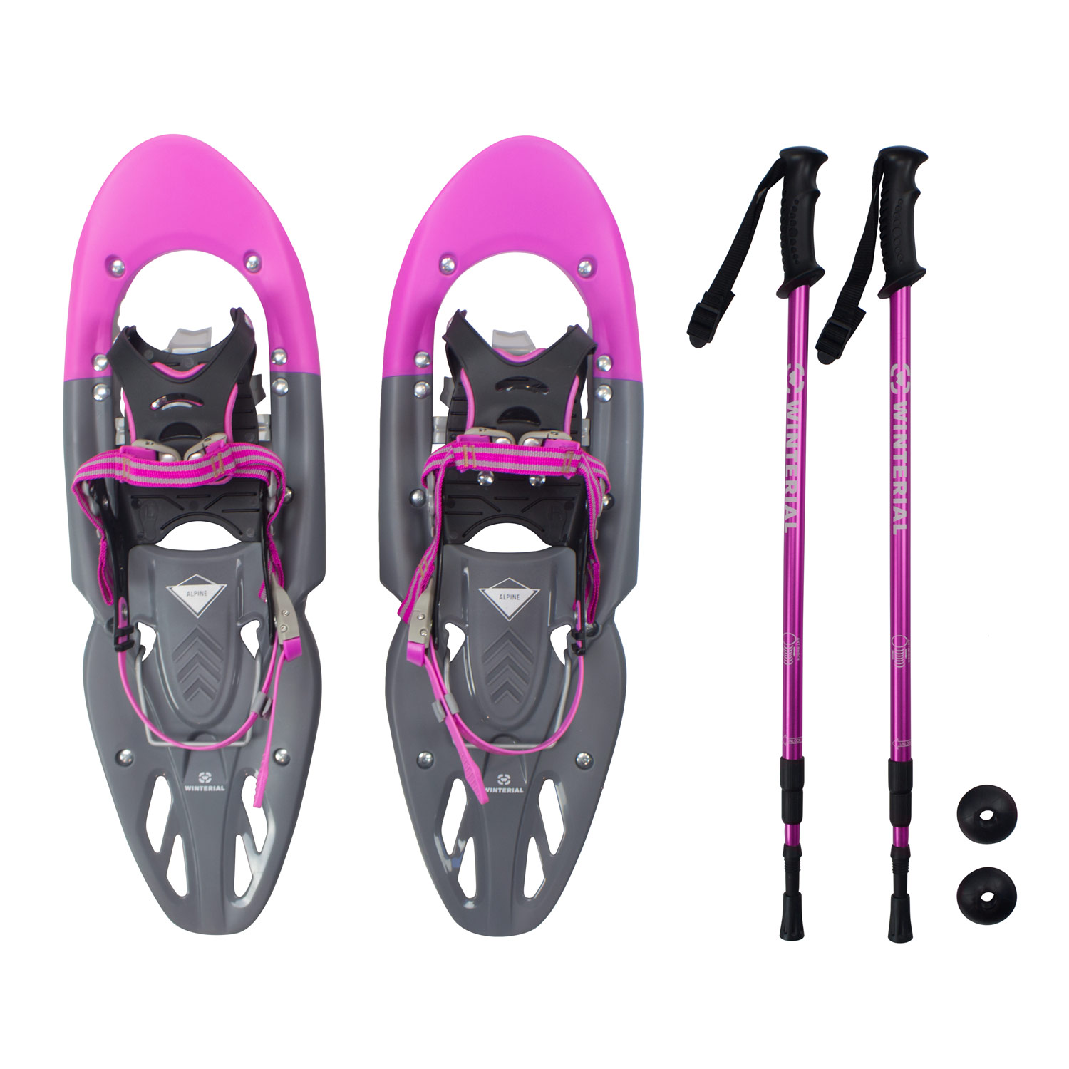 Winterial Yukon Snowshoes 2016-2017   Advanced   Backcountry   Snowshoeing   Women   Pink   All Terrain Snowshoes  ... by Winterial