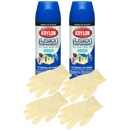 Krylon Fusion Patriot Blue Spray Paint For Plastic 12 Oz