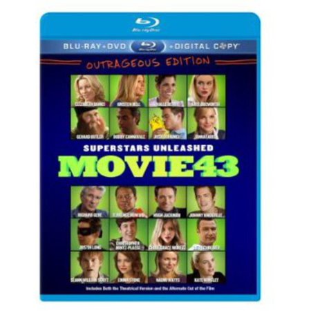 Movie 43  Blu Ray   Dvd   Digital Copy