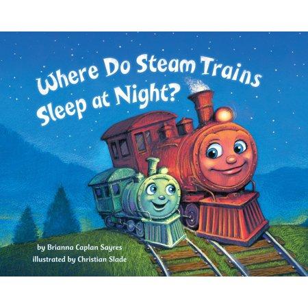 British Steam Trains (Where Do Steam Trains Sleep at Night (Board)