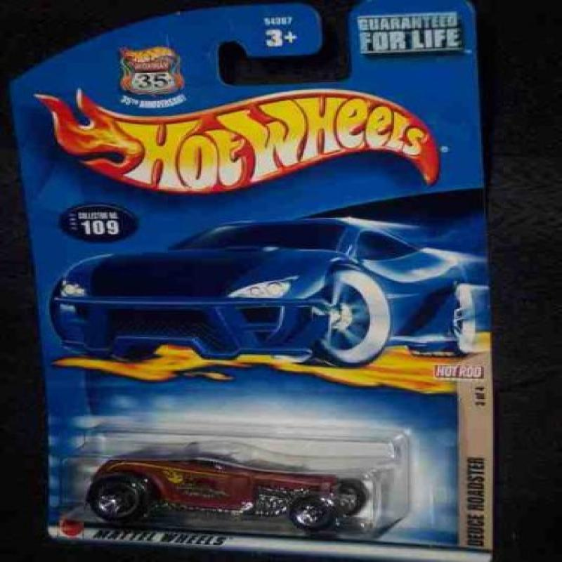 Hot Rod Magazine Series #3 Deuce Roadster #2002-109 Collectible Collector Car Mattel Hot... by