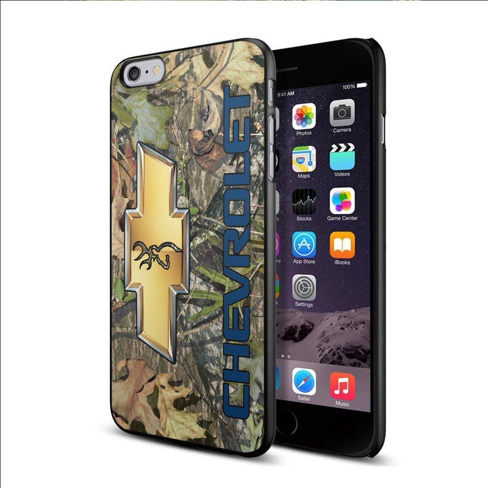 Ganma Camo Chevrolet Logo Deer Logo Case For iPhone and Case For Samsung Case (Case For Samsung s6 edge white)