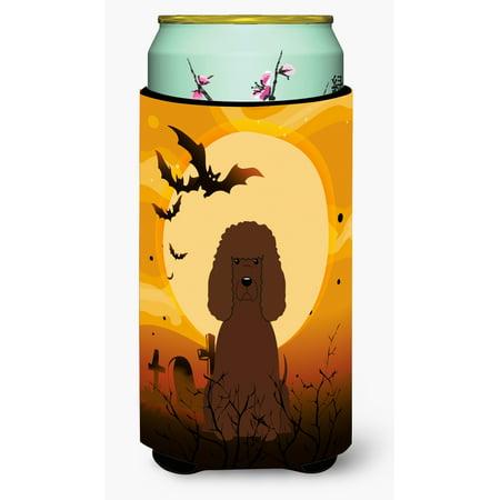 Halloween Irish Water Spaniel Tall Boy Beverage Insulator Hugger BB4329TBC](Halloween Virginia Water)