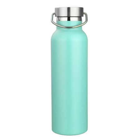 Vacuum Water Bottle,KINGSO 600ml Stainless Steel Insulation Water Bottle with Metal buckle For Camping Hiking