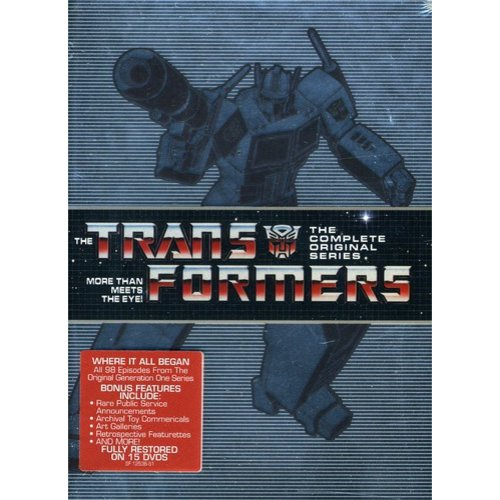 Transformers: More Than Meets the Eye - The Complete Series (Full Frame)