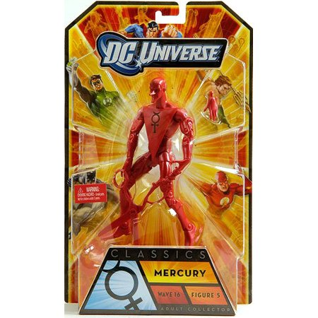 DC Universe Classic 6 Inch Action Figure Series 16 - Mercury - image 1 of 1