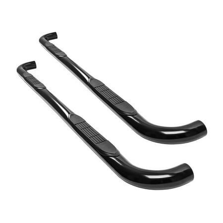 "Pro Series 3"" Black Nerf Bars 2010-2017 Dodge Ram 2500 3500 Mega Cab"