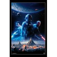 Star Wars Battlefront II - Key Art Poster Print