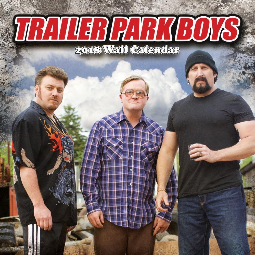 2018 trailer park boys wall calendar comedy tv by nmr