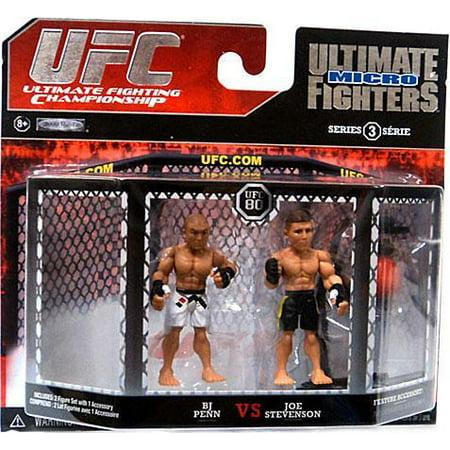 BJ Penn vs. Joe Stevenson Mini Figure 2-Pack UFC 80