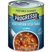 (4 pack) Progresso Vegetable Classic Vegetarian Vegetable and Barley Soup 19 oz
