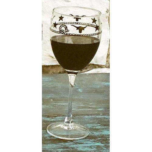 West Creation Western 10 oz. All-Purpose Wine Glass (Set of 4)