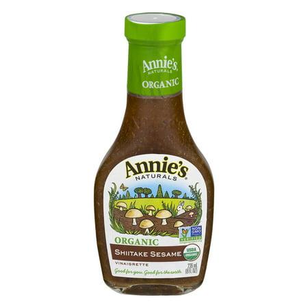 (3 Pack) Annie's Organic Shiitake Sesame Dressing, 8 Fl Oz Bottle