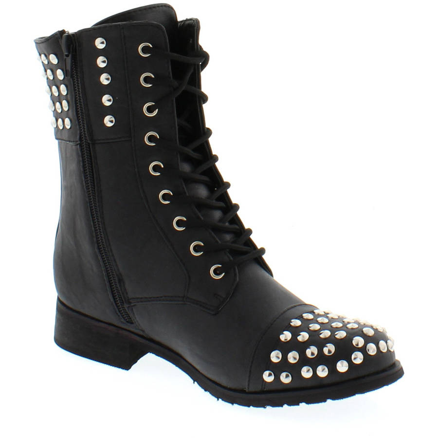 shoes of soul s laces studded boots walmart