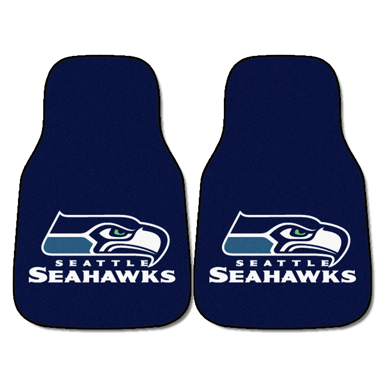 NFL Seattle Seahawks Carpeted Car Mats
