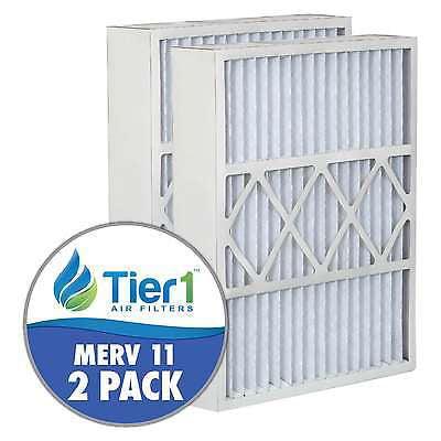 Lennox 20x25x5 Merv 11 Replacement AC Furnace Air (2 Pack)