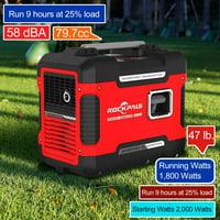 Deals on Rockpals 2000Watt Super Quiet Portable Generator