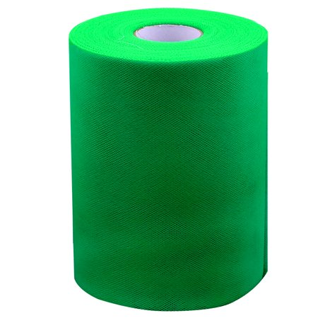 Unique Bargains Wedding Banquet Party Nylon DIY Tutu Tulle Spool Decor Green 100 Yards (Webbing 100 Yards)