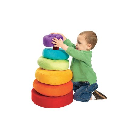 Choice Stack Ring - Excellerations Giant Plush Stacking Ring (Item # TALLRING)
